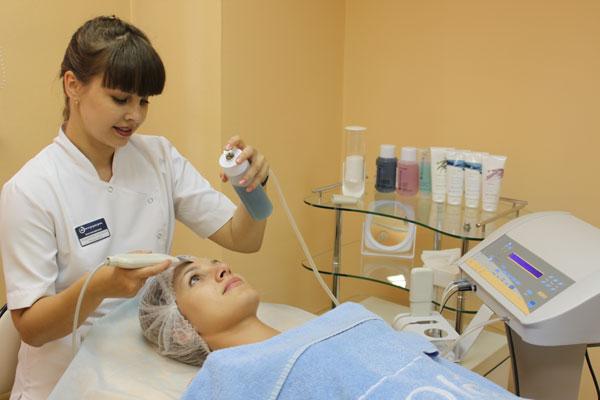 ультразвуковая чистка лица при брекетах